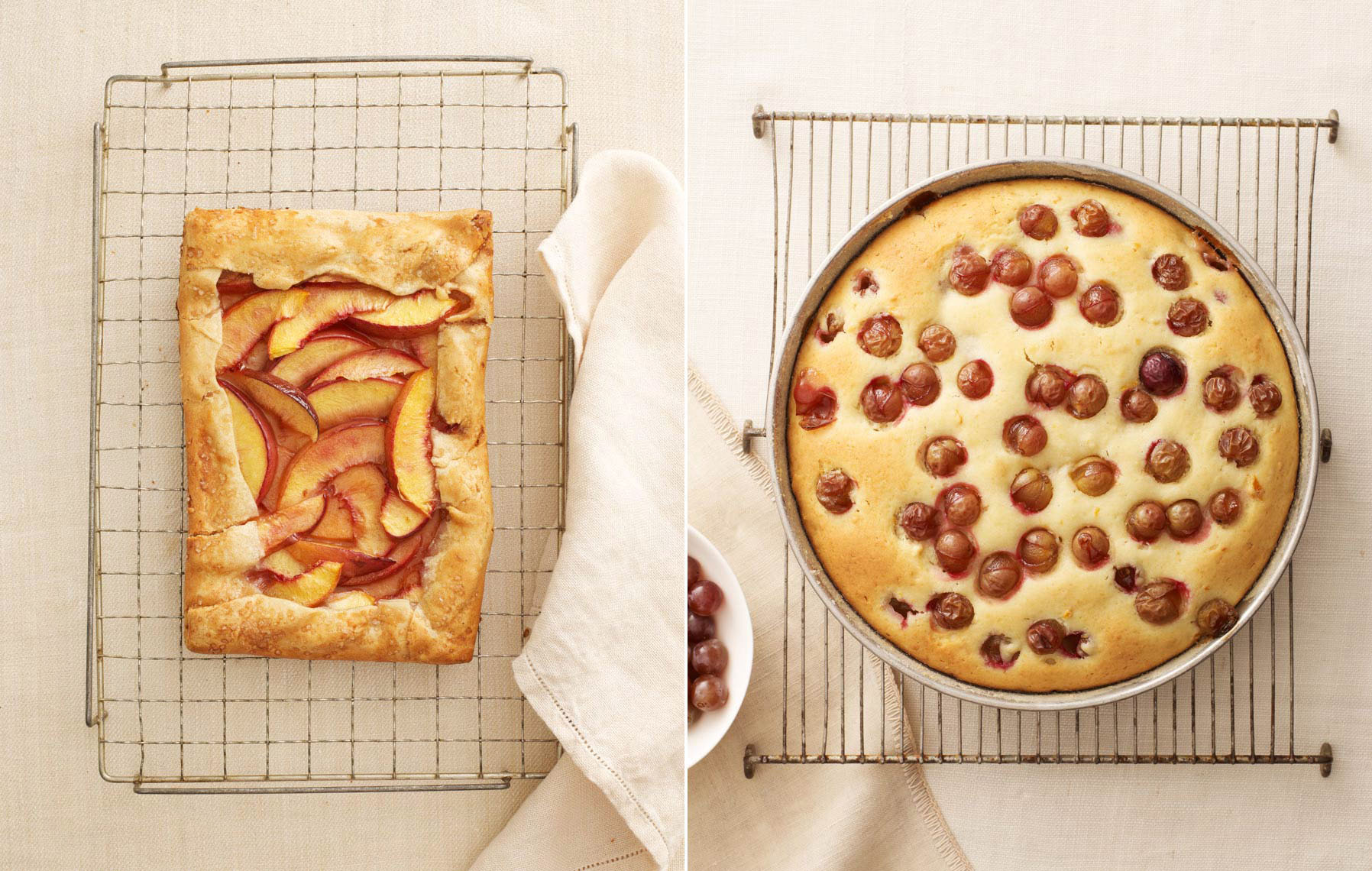 Nectarine Galette & Winemakers Cake